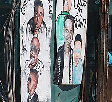 The Barber's Shop, Maun, Botswana, Africa by Adrian Paul