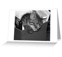 Recycled Splinter Greeting Card
