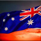 Australian Flag by Kym Howard