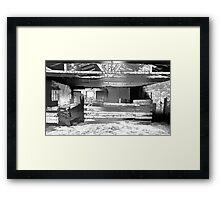 Stock Shed. Framed Print