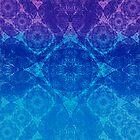 Iridium Atoms Blue Purple by atomicshop