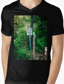 Something Unusual About It Mens V-Neck T-Shirt