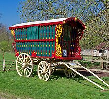 Gypsy Caravan by hootonles