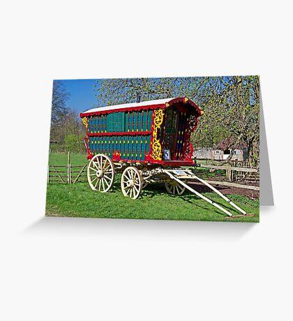 Gypsy Caravan Greeting Card