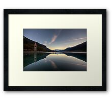 Panoramic Mirror Framed Print