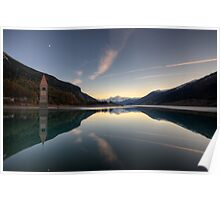 Panoramic Mirror Poster