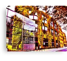 The Living Wall Canvas Print
