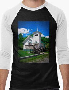 Stotesbury Lives  Men's Baseball ¾ T-Shirt