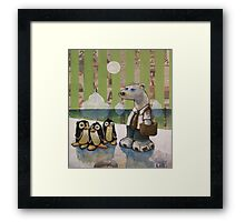 Employing Foreign Labour Framed Print