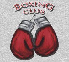 Boxing Club by Patxshirt