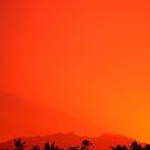 Bosavi Sunset seen from Fogomaiyu Village by panvorax