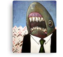 Card Shark Canvas Print