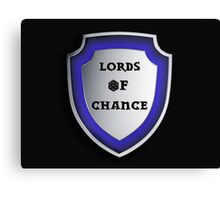 Lords of Chance Canvas Print