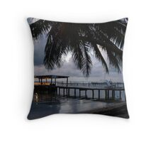 A Belize Dawn-Central America Throw Pillow