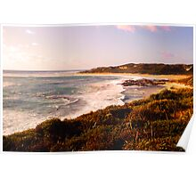 Evening light at Rivermouth Poster