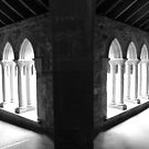 Iona Abbey by Mike Paget