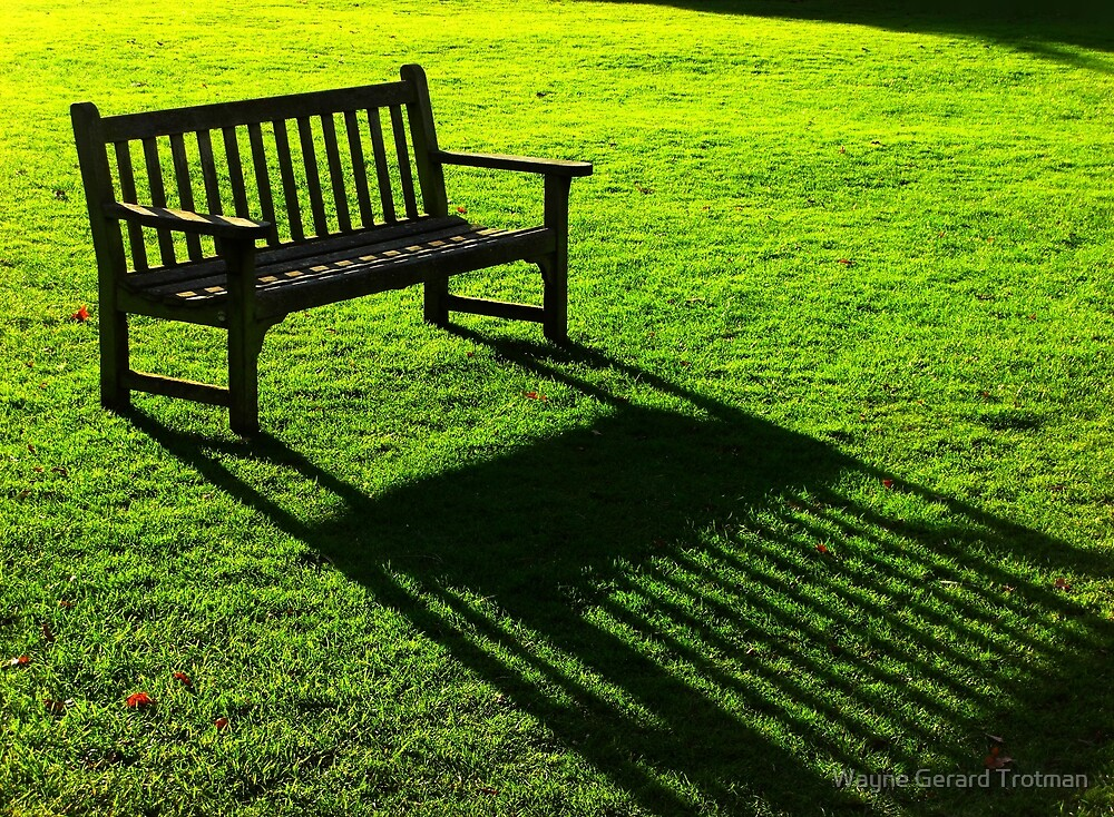 Sit and Dream of Green by Wayne Gerard Trotman