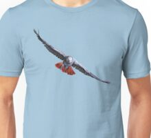 AFRICAN GREY PARROT (FLYING) Unisex T-Shirt