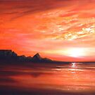 A View of Table Mountain by Cherie Roe Dirksen
