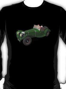 Santa Claus Drives Jaguar SS 90 T-Shirt
