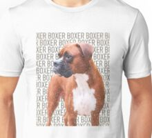 Young Boxer Dog Unisex T-Shirt