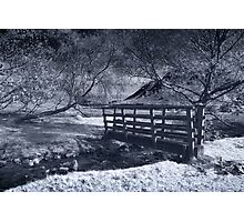 Bridge Over Scale Beck IR Photographic Print