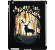 Deer God Master of the Forest iPad Case/Skin