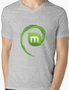 Linux Mint Ultimate Mens V-Neck T-Shirt
