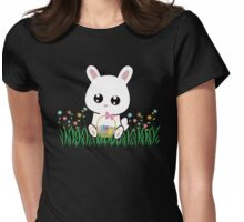 Bunny Egg Womens Fitted T-Shirt