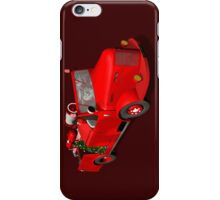 Santa Claus Driving A Fire Truck iPhone Case/Skin