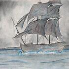 Galleon by Tam Edey