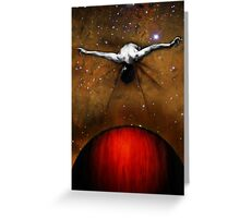 Fall From Grace Greeting Card