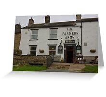 The Farmers Arms - Muker Greeting Card