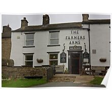 The Farmers Arms - Muker Poster