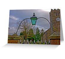 Church Light Greeting Card