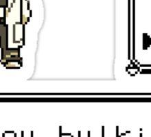 Professor Oak Pokemon. Are you bulking or cutting? Cut edition Sticker