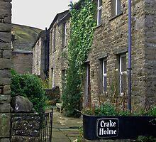 Cottages - Muker by Trevor Kersley
