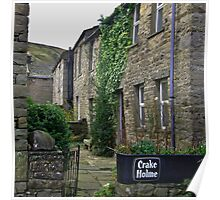 Cottages - Muker Poster