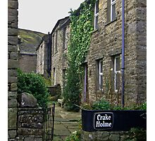 Cottages - Muker Photographic Print