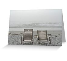 Fogged In - White Point, Nova Scotia Greeting Card