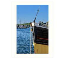 Fishing Boat Bow Art Print