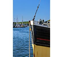 Fishing Boat Bow Photographic Print