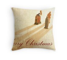 Guided by the light (Card & Wall Art) Throw Pillow