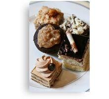 Chocolate Goodies Boston Bar Canvas Print