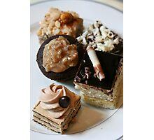 Chocolate Goodies Boston Bar Photographic Print