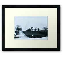 The Horizon  Framed Print