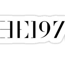 "The 1975 ""Logo"" Sticker"