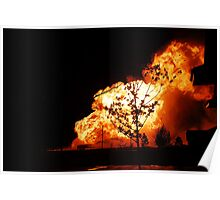 Hell Came to Bushland Poster