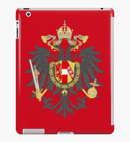 Imperial Coat of Arms of the Austrian Empire iPad Case/Skin