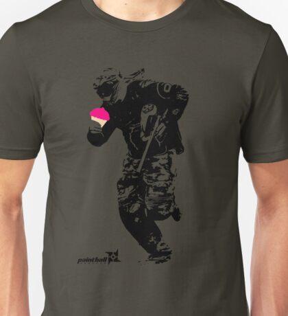 Cupcake Paintballer Unisex T-Shirt